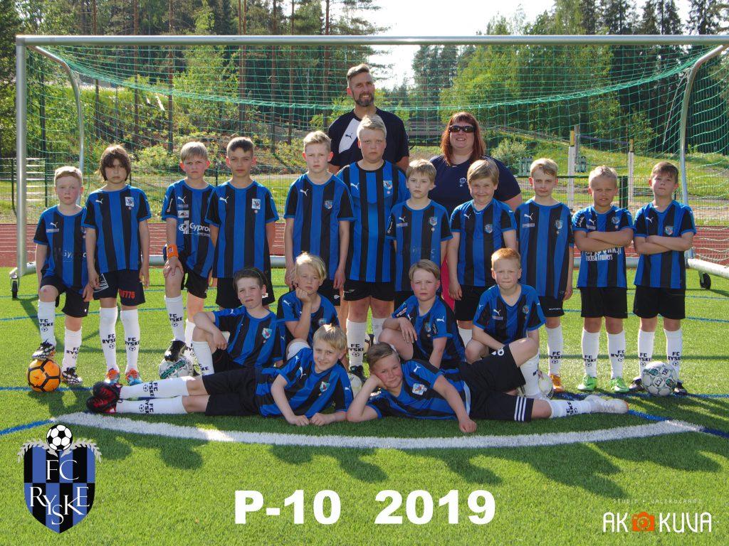 P-10 2019 joukkuekuva