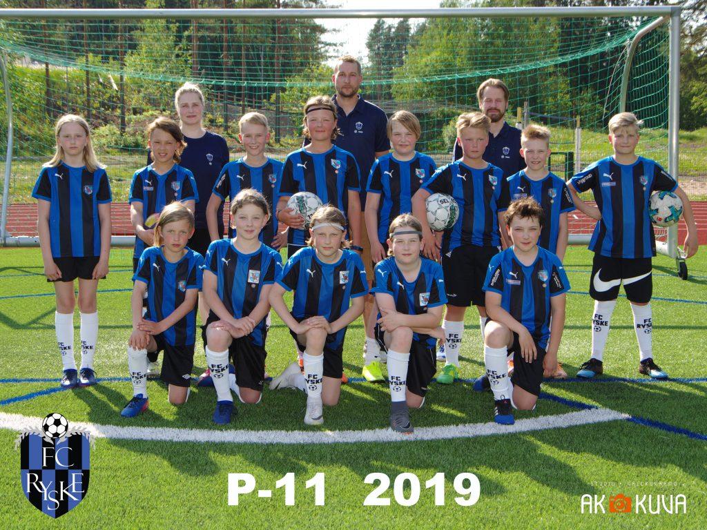 P-11 2019 joukkuekuva
