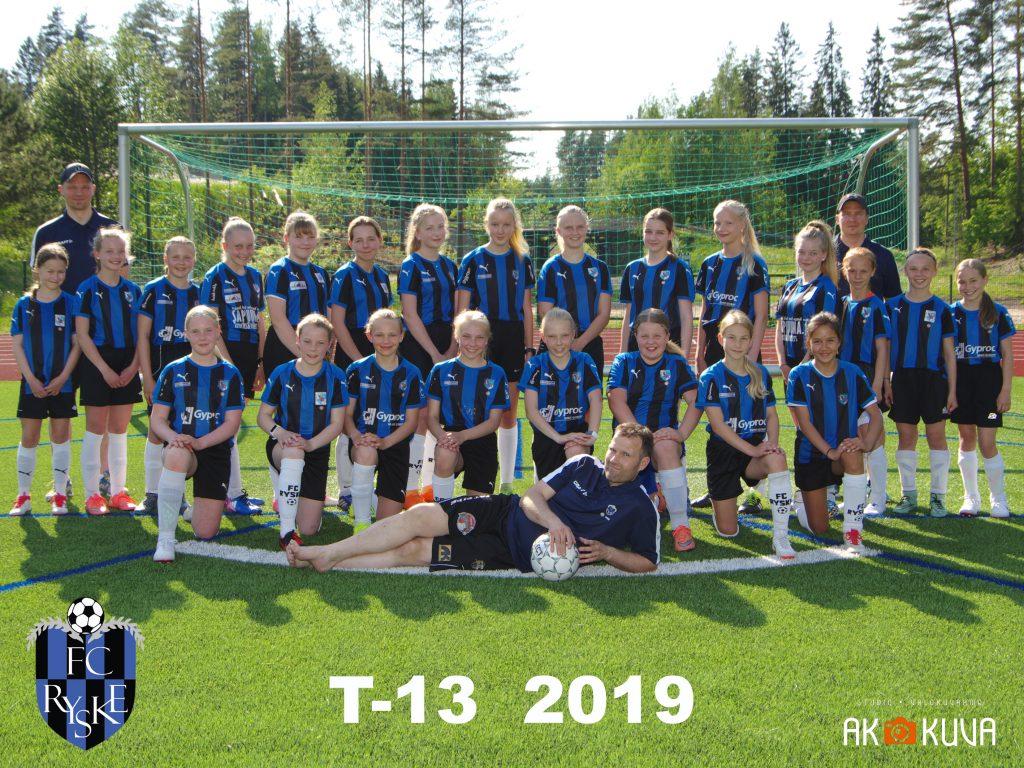 T-13 2019 joukkuekuva